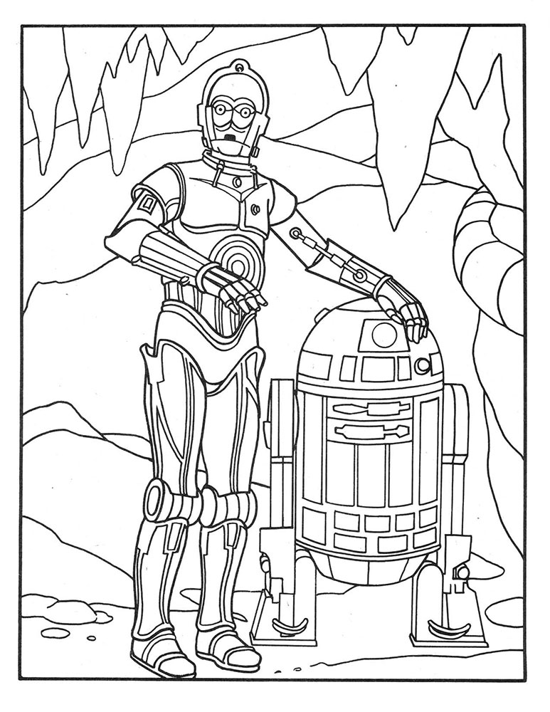 Star wars coloring pages luke - Clamart